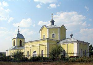 Никитовка Дмитриевский храм