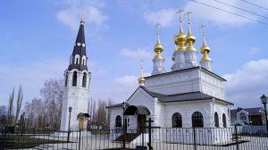 Новохуторное храм Димитрия Ростовского