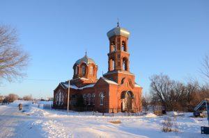 Храм святителя Тихона Задонского села Нижняя Серебрянка