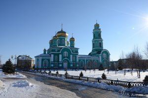Свято-Троицкий собор поселка Ровеньки
