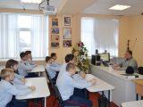 Встреча кадетов с протоиереем Виталием Миршавкой