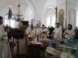 В Крещенеский Сочельник епископ Савва посетил с архипастырским визитом село Лесное Уколово Красненского района