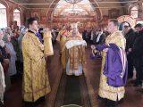 В Неделю о мытаре и фарисее епископ Савва совершил Божественную литургию в Димитриевском храме г. Алексеевка