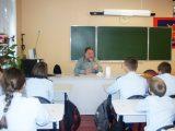 В канун праздника Сретения Господня состоялась очередная встреча кадетов с протоиереем Виталием Миршавкой