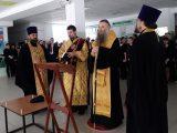 Архипастырь благословил учащихся средней общеобразовательной школы г. Валуйки