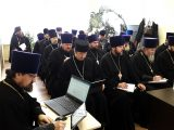 Епископ Валуйский и Алексеевский Савва возглавил работу собрания благочинных и руководителей отделов Валуйской епархии