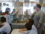 Встреча кадетов с отцом Виталием в преддверии Великого Поста