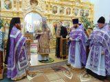 Архиерейское богослужение в Покровском соборе г. Бирюч