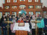 В праздник Сретения Господня учащиеся Сетищенской школы посетили Покровский храм