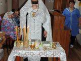 Соборование, исповедь и причастие в доме престарелых с.Иловка