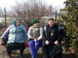 1 апреля прихожане Свято-Ильинского собрались на уборку прихрамовой территории