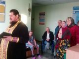 Благочинный Красненского округа протоиерей Евгений Задорожный посетил пациентов ЦРБ
