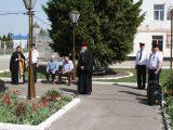 В канун дня Победы в исправительной колонии № 4 г. Алексеевка состоялся митинг, посвященный празднику 9 мая