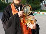 Икона и мощевик свт. Николая в Иловском доме-интернате