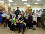 Теплая встреча в Бирюче: 8 мая 2019 года воспитанники воскресной школы «Покров» подготовили праздничный концерт, посвященный дню Победы