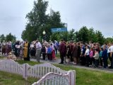 Крестный ход в село Расховец