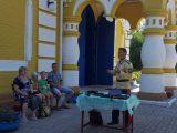 Молодёжь в Погромце познакомилась с казачьими традициями