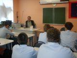 Валуйские кадеты встретились со священником