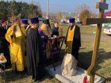 В селе Бирюч освящён закладной камень нового храма-часовни