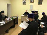 Состоялось расширенное собрание благочинных и глав епархиальных отделов