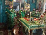 Преосвященный Савва совершил Литургию в селе Стрелецкое