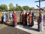 В селе Завальском освящён Поклонный Крест
