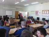 Встреча священника со старшеклассниками в Вейделевской СОШ п.Вейделевка