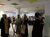 Молебен в школе №2 г. Валуйки