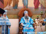 Архиерейская литургия в праздник иконы Божией Матери Знамение в селе Уразово