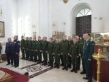 Епископ Валуйский и Алексеевский Савва принял присягу у казаков