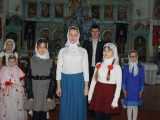 Рождественский концерт в храме села Иловка