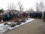 Священник отслужил молебен в честь 77-й годовщины освобождения села от гитлеровцев