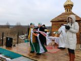 Епископ Савва освятил новую купель в селе Селиваново