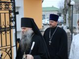 Архиерейское богослужение в Валуйках в Крещенский сочельник