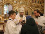 Ночная служба в праздник Крещения Господня в главном соборе епархии