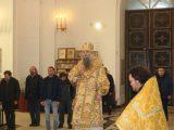 Литургия 26 января. Кафедральный собор г.Валуйки