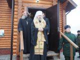 Глава Белгородской митрополии посетил воинскую часть в Валуйках