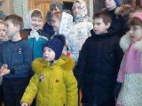 Рождественский утренник в Свято-Ильинском храме с.Красное