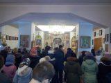 Молебен для учащихся в храме Сошествия Святого Духа с. Камызино