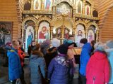 Школьники из четырех населенных пунктов посетили Волоконовский храм Спаса Нерукотворного
