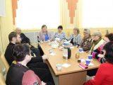 Встреча с подопечными соцзащиты в поселке Вейделевка