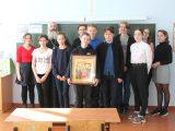 В школе села Фощеватово Волоконовского района прошел урок православной культуры