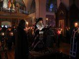 Архиерей совершил чтение покаянного канона Андрея Критского в Алексеевском соборе