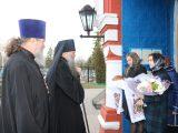 В пятницу первой седмицы Великого поста епископ Савва совершил Литургию Преждеосвященных Даров и освятил коливо