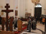 Епископ Савва совершил первую в этом году службу Страстям Христовым (Пассию)