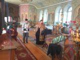 Молебен о спасении от эпидемии коронавируса в Красненском благочинии