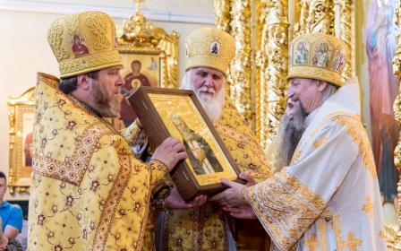 Вручение наград клирикам Белгородской епархии