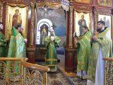Архиерейская литургия в Вербное воскресенье
