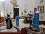 Архиерейское богослужение в Субботу Акафиста
