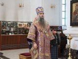 Архиерейская литургия в 5-ю Неделю Великого поста